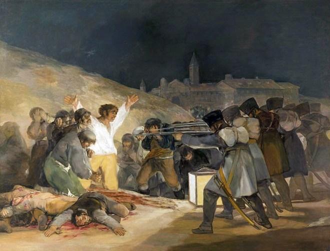 Goya y el Tres de Mayo