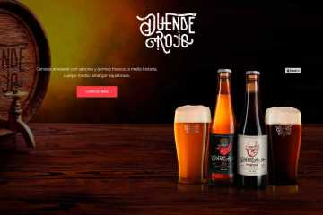cerveza duende rojo