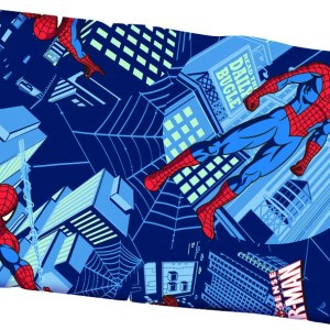 almohada spiderman