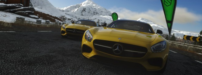 DRIVECLUB Mercedes-AMG GT 1