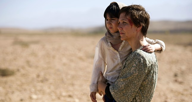 Maggie Gyllenhaal with Oliver Bodur in The Honourable Woman