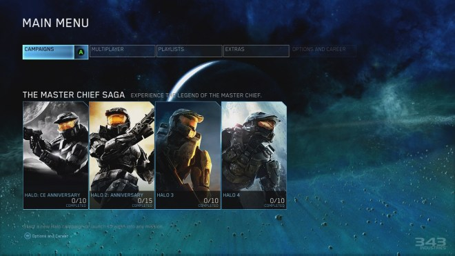 Halo TMCHC Menu
