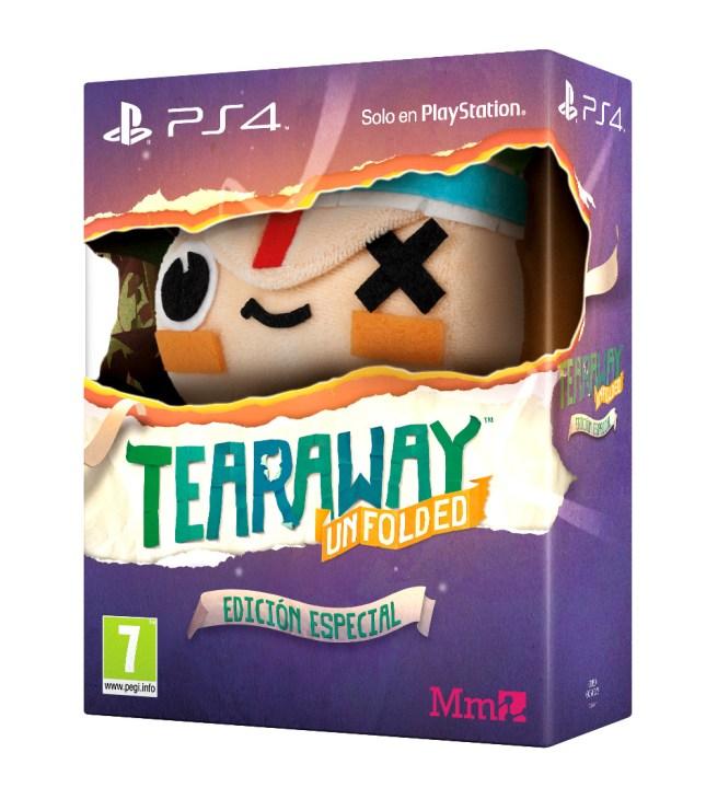 Edición Especial Tearaway Unfolded