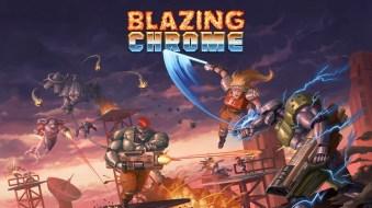 Blazing Chrome Portada