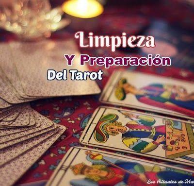 LIMPIEZA Y PREPARACIÓN DEL TAROT