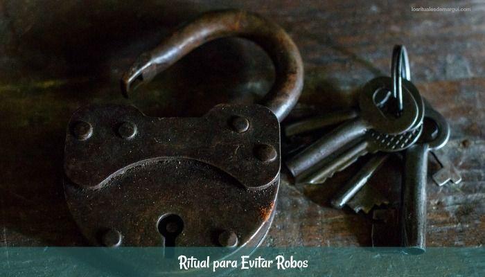 Ritual para evitar robos