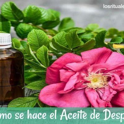 Aceite de Despojo ~ Elimina la Energía Negativa