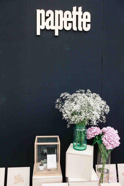 Papette show-up 2017 losse bloemen gipskruid en hortensia