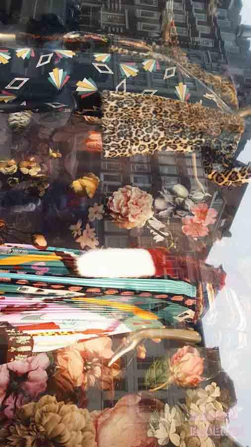 De bijenkorf Amsterdam window shoppen trends najaar 2017