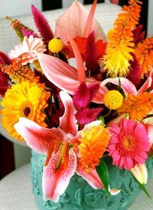 foto-kleurrijk-lelie-anthurium-boeket-bloemen-losse-bloemen-beeld-mooiwatbloemendoen lelie-Lilium--Gerbera---Kniphofia---Lilium-beeld;-mooiwatbloemendoen-bloemen-voor-oud-en-nieuw-huis-versieren-decoreren-interieur-bloemenblog-losse-bloemen-