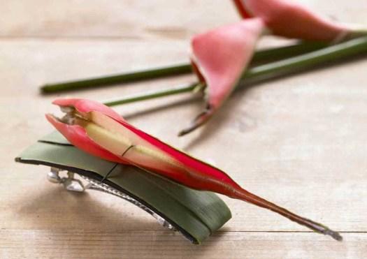 lossebloemen haardecoratie speltje maken met bloemen