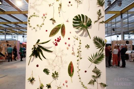 lossebloemen.nl showup 2018 haarlemmermeer trade show for home and gift vijfhuizen trends 2018 bloemen losse bloemenblog wand met bloemen