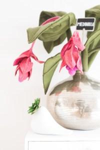 Daphne Engelke lossebloemen blog bloemen van vilt!