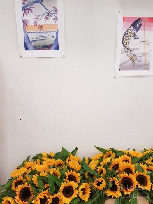 Zonnebloemen museum sunrichvangogh celebrate summer takiieurope - foto's lossebloemen.nl Amsterdam