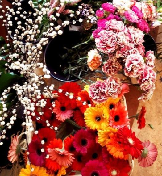 Start with dirt - een dag van het leven van een bloemiste - lossebloemenblog bloemen