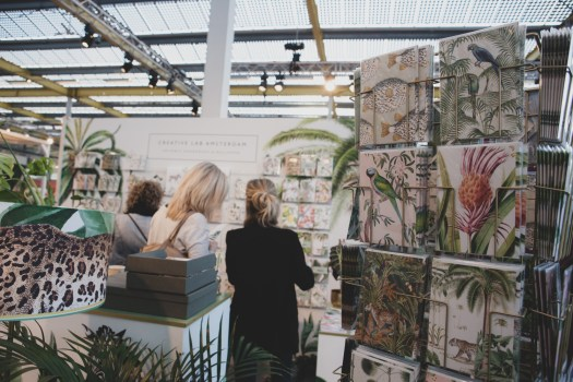 Creative Lab Amsterdam portable papergoods en wallpaper op Showup 2019 trends op home and gift beurs blog