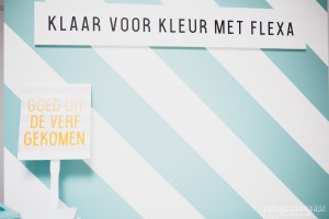 Bloggersdag Flexa - Creabever - Sikkens experience center SEC blog lossebloemen