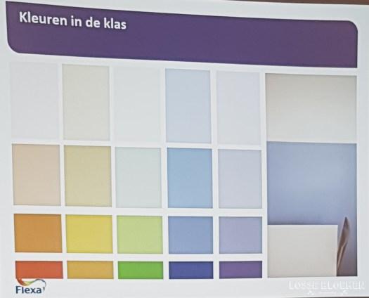 Verfkleuren in de klas Flexabloggersdag @Lossebloemen