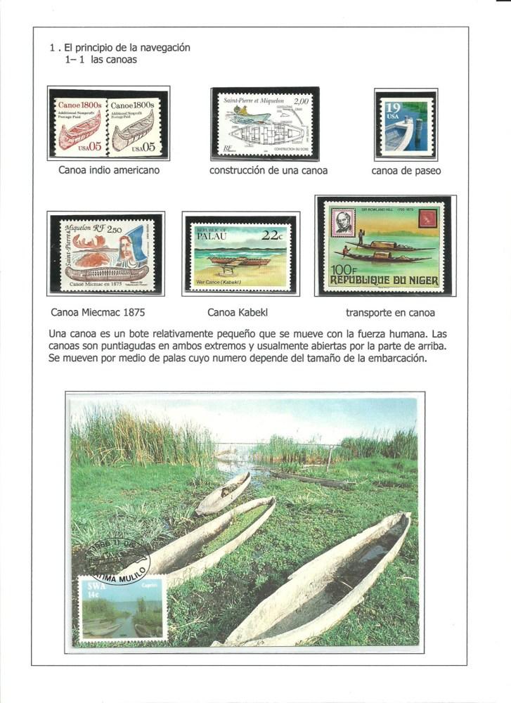 MEDIOS DE COMUNICACION Y TRANSPORTES MARITIMOS- FILATELIA (4/6)