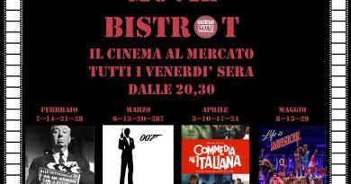 Movie Bistrot: ogni venerdì sera alle 20.30 al Mercato Centrale