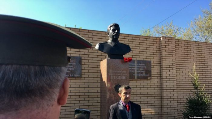 Stalin bust in Novosibirsk. Source: rferl.org