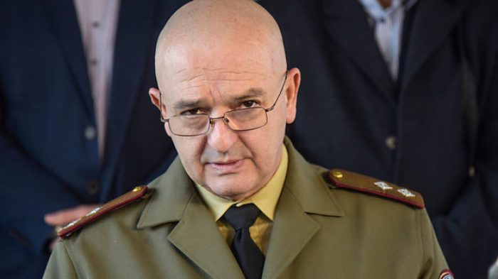 General Ventsislav Mutafchiyski, a chief of the Military Medical Academy in Sofia and head of the National Operational Headquarters for the Fight with the Coronavirus Pandemic in Bulgaria Source: capital.bg