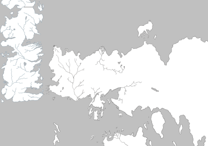 WorldMap The Lands of Ice and Fire