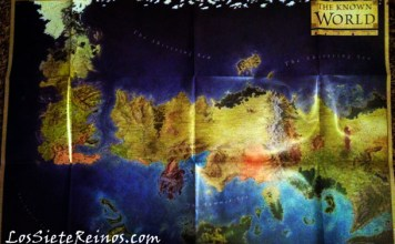 The Lands of Ice and Fire - The Known World