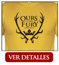 Camiseta Casa Baratheon Cuernos