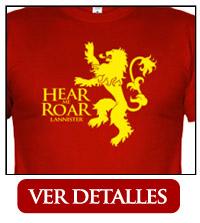 Camiseta Casa Lannister Leon