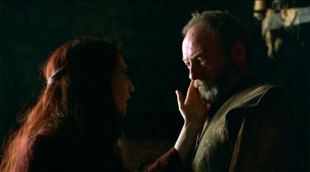 Davos y Melisandre