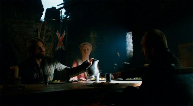 Jaime, Brienne y Lord Bolton