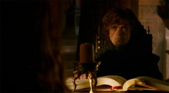 Tyrion en la mesa