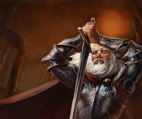 Barristan Selmy - GoT by ~thegryph on deviantART