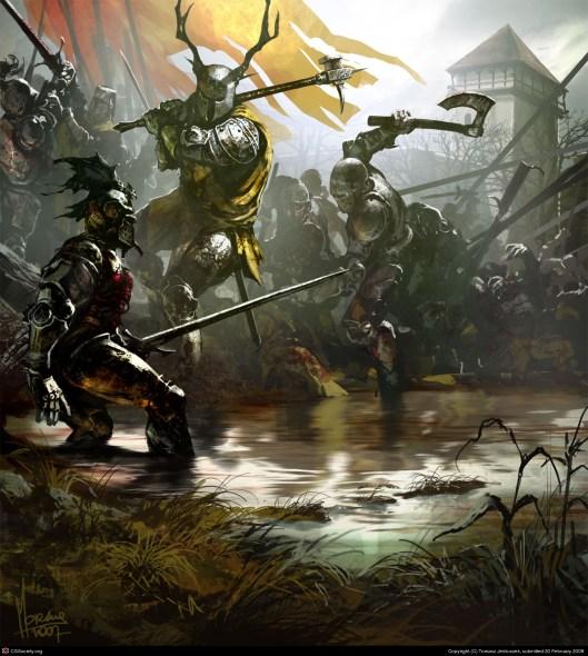 Rhaegar versus Robert by Tomasz Jedruzek