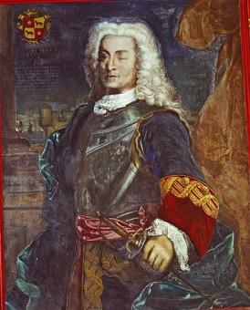 El almirante Don Blas de Lezo. Museo Naval de Madrid.