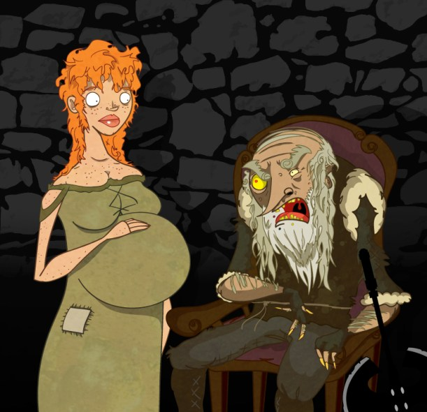 Gilly and Craster by ~Sir-Heartsalot on deviantART