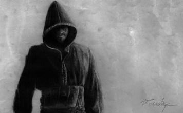 el hombre encapuchado invernalia