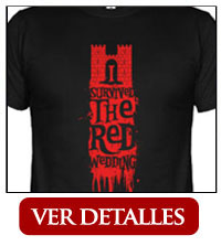 camiseta i survived the red wedding
