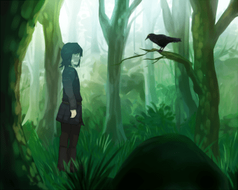 bran_and_the_three_eyed_crow_by_mafer-d3h9p9r
