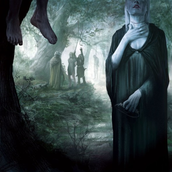 Lady Stoneheart hanging men - by Marc Simonetti ©