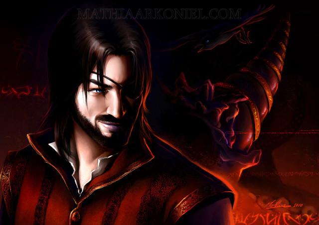 Euron Greyjoy, por MathiaArkoniel en Devianart