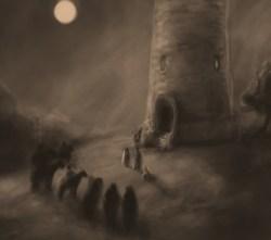 Una representación vaga del sueño febril de Ned. by Shenky on deviantART