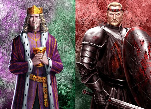 Aenys y Maegor Targaryen, por Amok