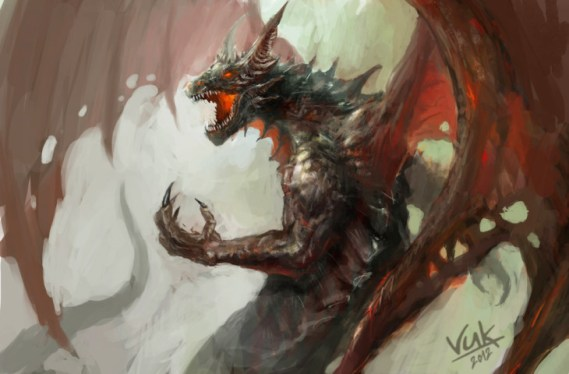 dragon by chevsy on deviantART