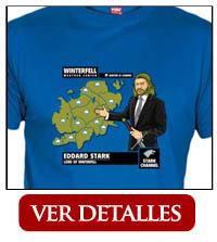 Camiseta Stark Hombre Ned del Tiempo