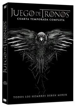 juego de tronos dvd 4 temporada