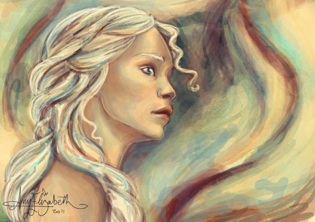 Khaleesi of the Dothraki by airyfairyamy on DeviantArt