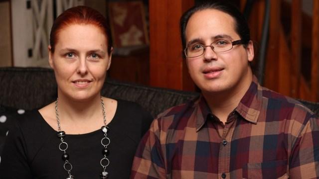 Linda Antonsson y Elio García
