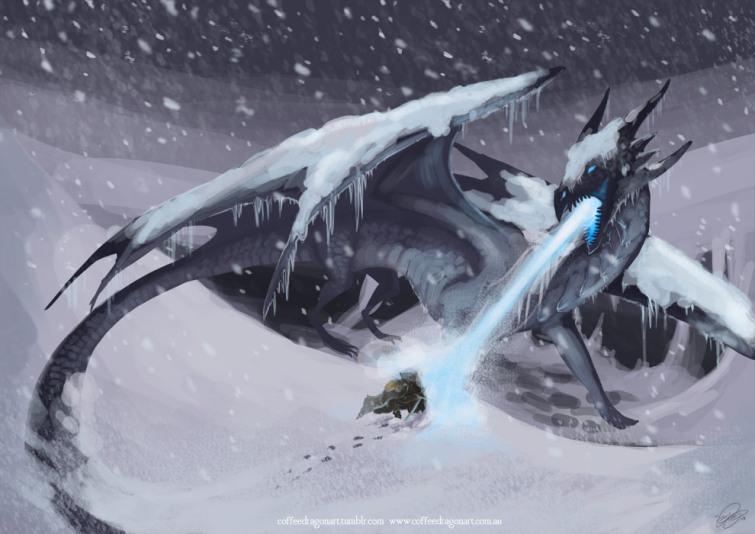 The Ice Dragon de George R. R. Martin será una película animada